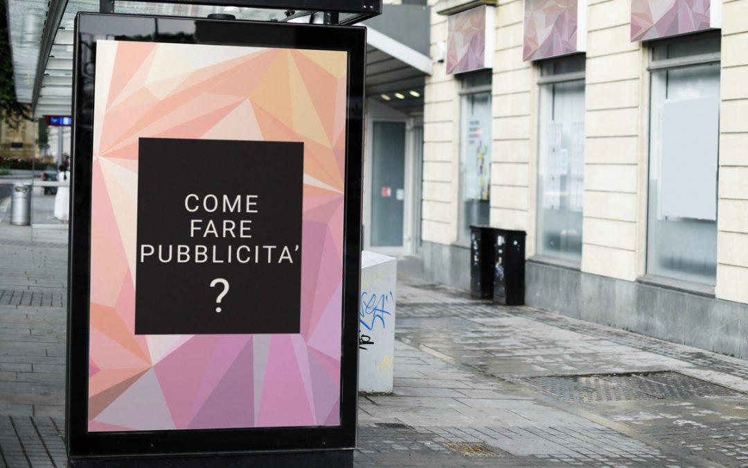 Come fare pubblicità
